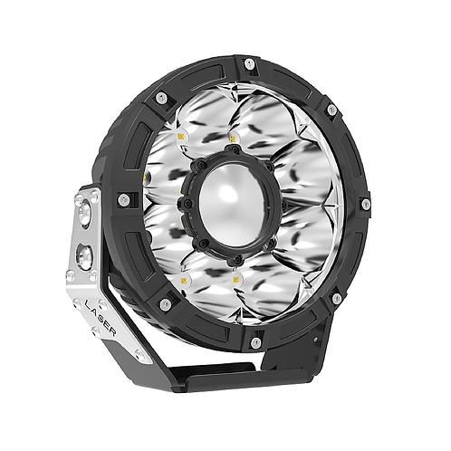 2ks LASER / LED reflektory (pár)  45W/1LUX - 1900 metrov dosvit !