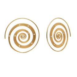 Spiral Earrings E3006Y