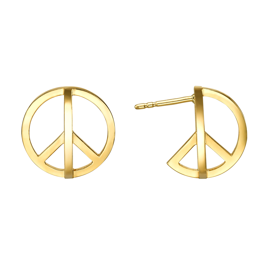 Peace Earrings E3003Y