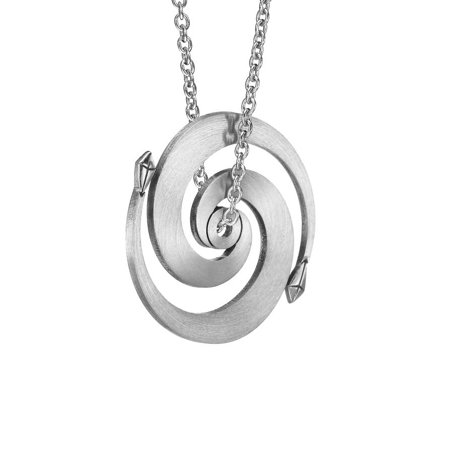 Spiral Pendant P1001w