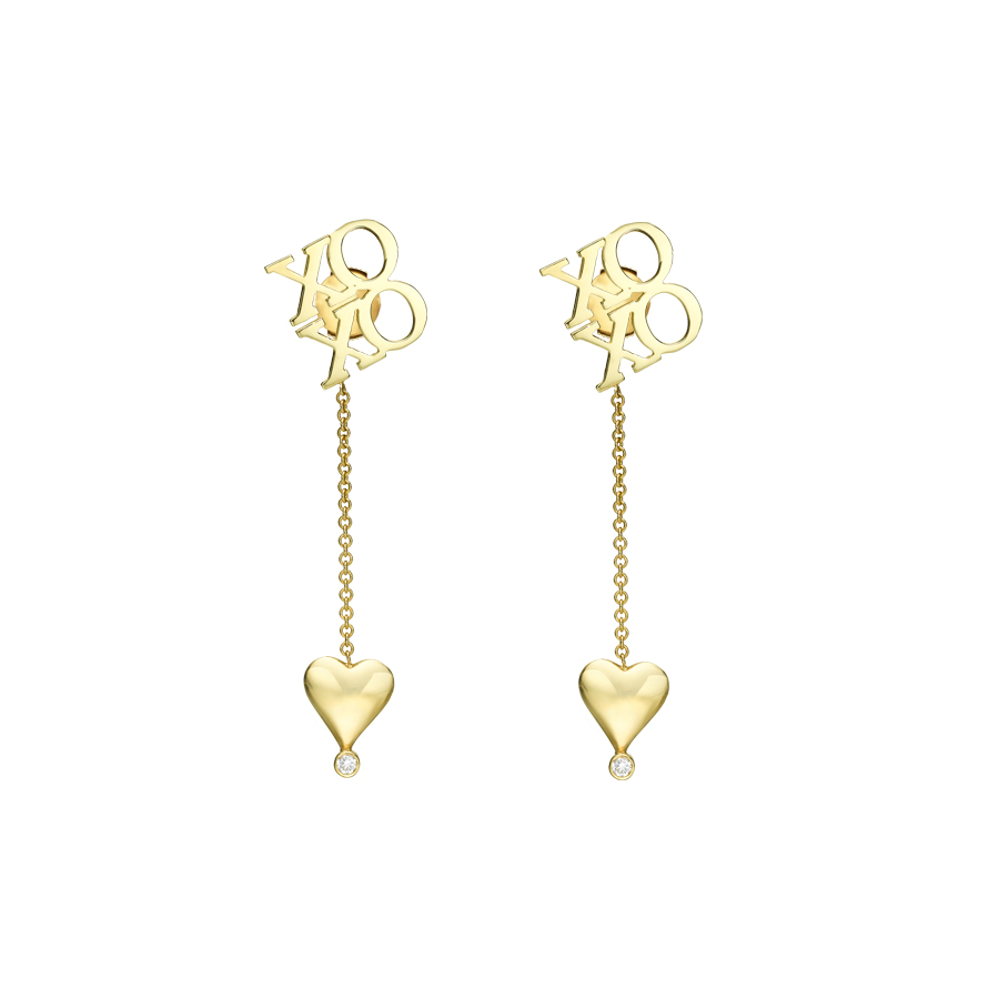 EARRINGS XO E3021Y