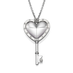 Love key Pendant P1017w