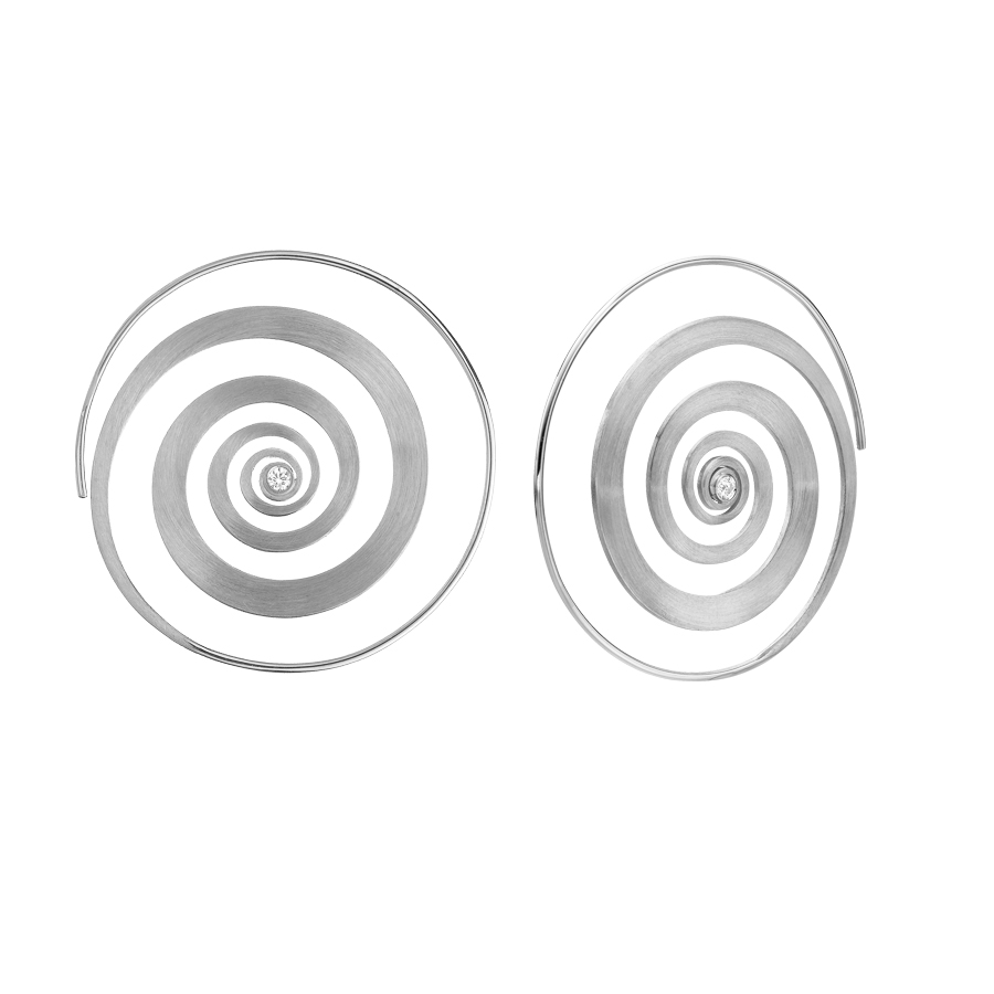 Spiral Earrings E3001W