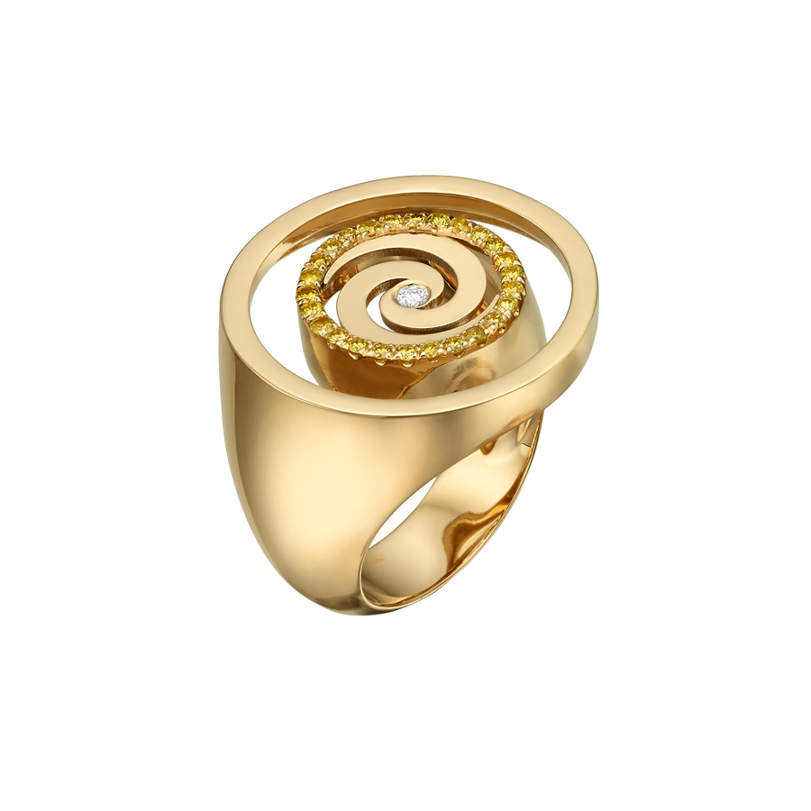 Spiral Ring R2004Y