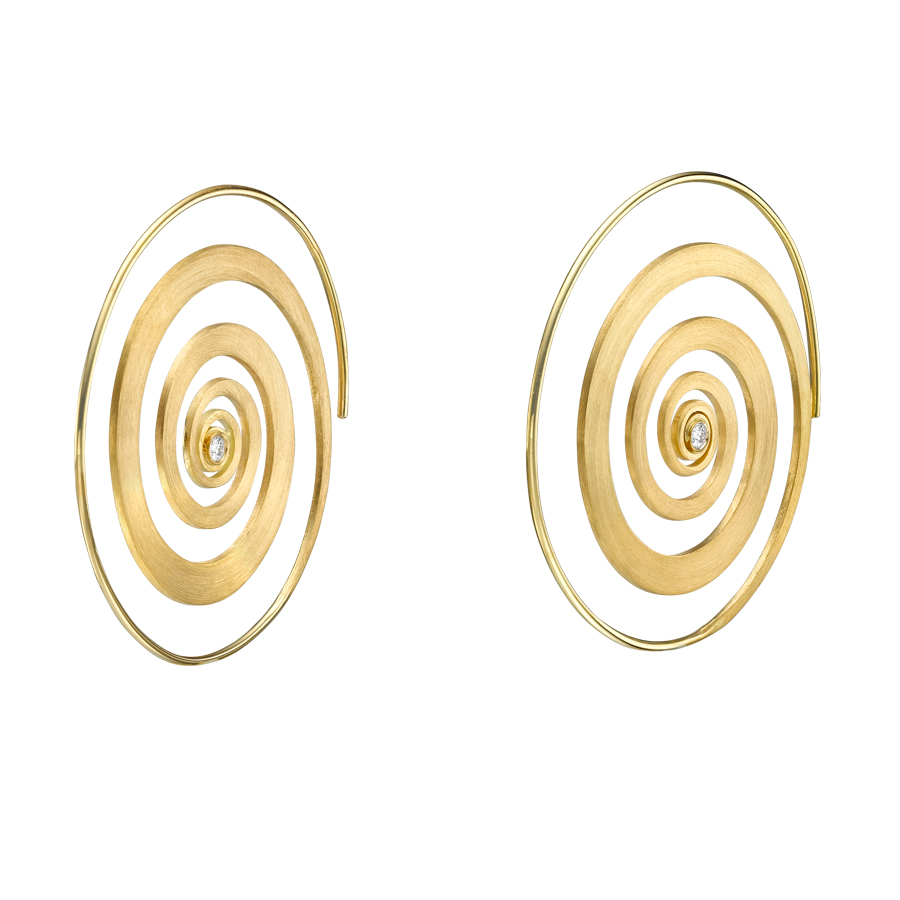 Spiral Earrings E3001Y