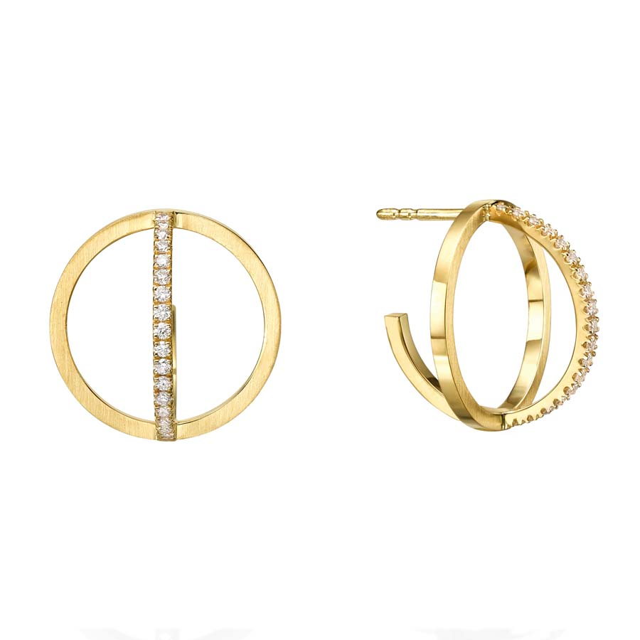 Circle Earrings E3002Y