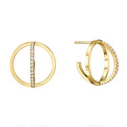 Circle Earrings E3002Y
