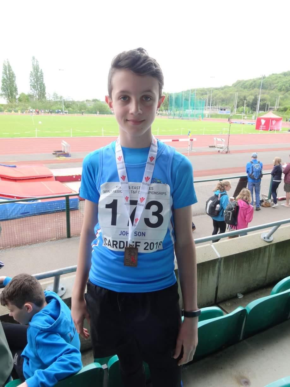 U13 boys 800m East Wales