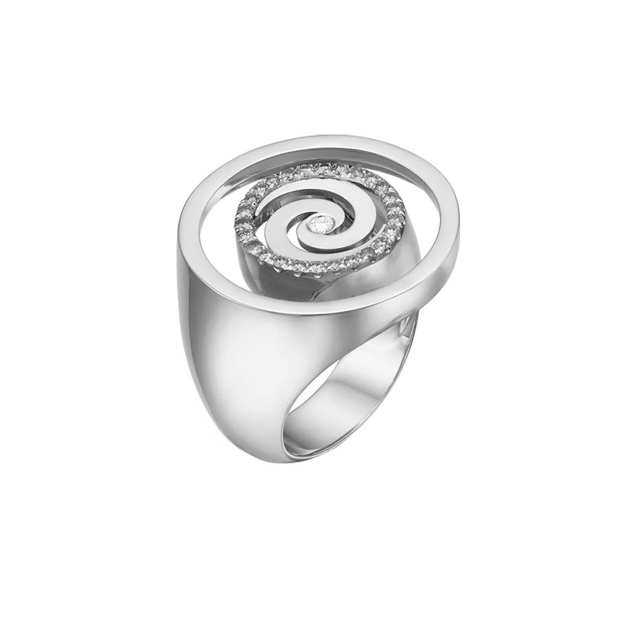 Spiral Ring R2004W