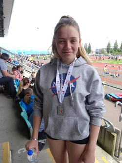 U17 girls Javelin East Wales