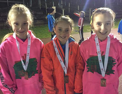 U11s girls team bronze