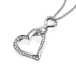 Forever Love Pendant P1004W