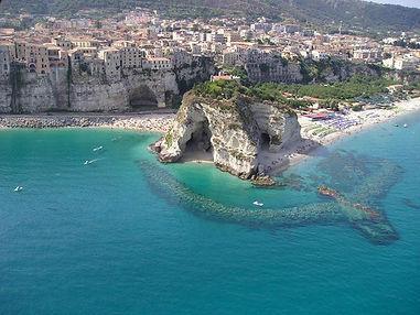 Vue de la Calabre (Italie)