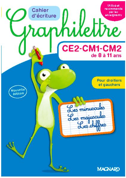 Graphilettre CE2-CM1-CM2 (2017)