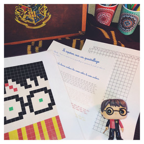 Pixel art et Harry Potter ⚡️