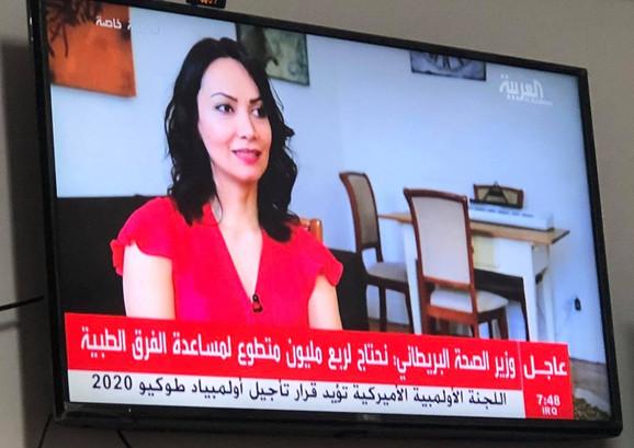 on Al Arabiya TV