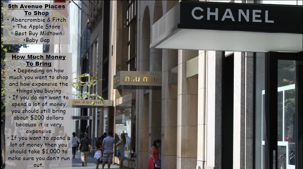 I'm not sure $1000 will cut it if you're going on a shopping spree on 5th Ave., Jaden! Especially if you're going in Chanel and Miu Miu!