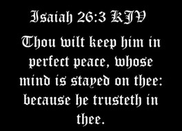 Consistently Trust God