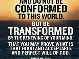Be Transformed by the Word