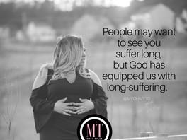 Suffer Long vs. Long-Suffering