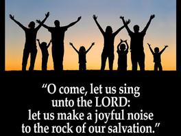 WORSHIP GOD!