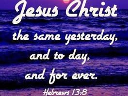 Jesus is Constant