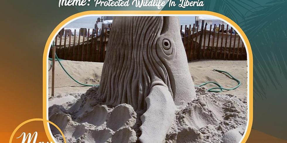 Super Sand Sculpture Competition !!
