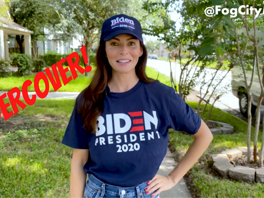 UNDERCOVER FOR BIDEN. The Desperate Hunt for Sleepy Joe Supporters! via #fogcitymidge