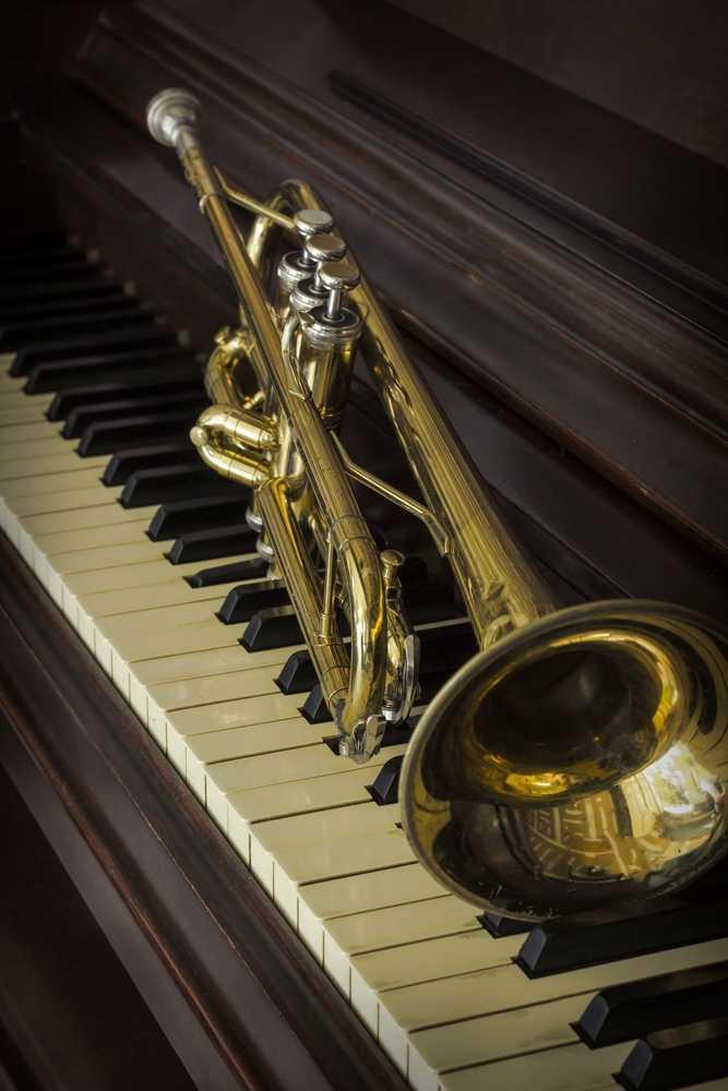 Trumpet & those ivory keys