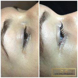 NOW OFFERING Lash Lift & Lash Tint_Lift lasts 6-8 weeks and tint lasts 2-3 weeks!_A great alternativ