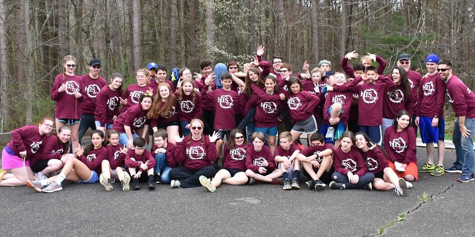 Middle School Spring Retreat