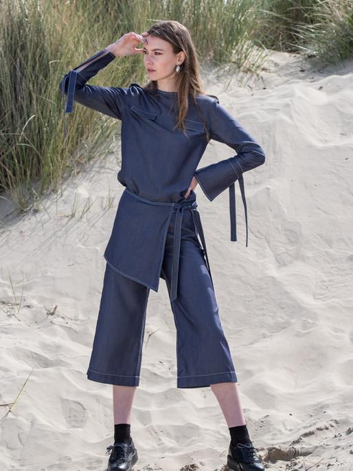 Greta blouse, Greta pants