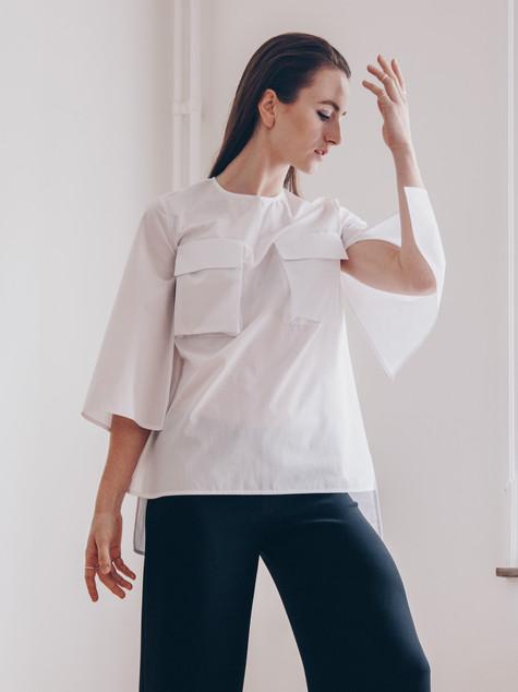 White Honesty shirt