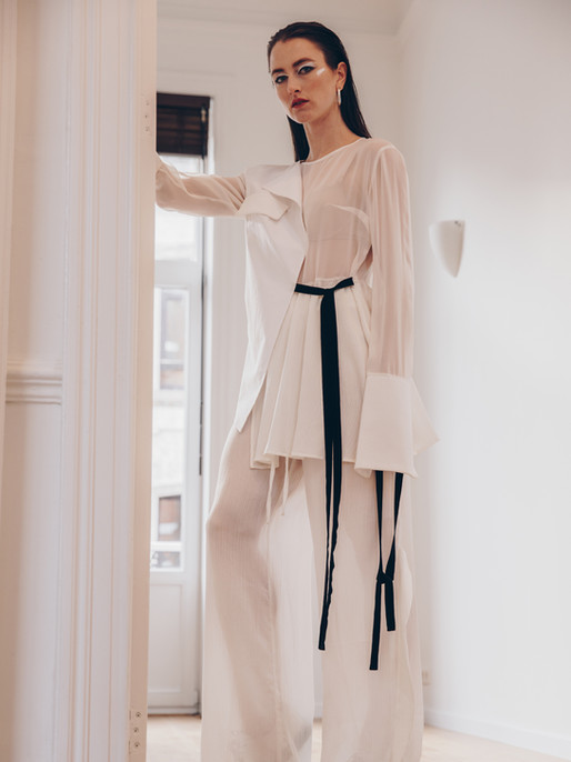 Silk Obsession blouse, Obsession trousers