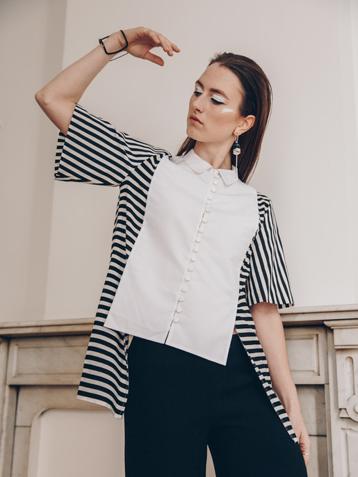 Purity blouse Grace trousers