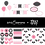 Thumbnail: Panda Bear Black and Pink Digital Kit