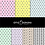 Thumbnail: COMBO Memphis e Geometric Candy Color Digital Paper