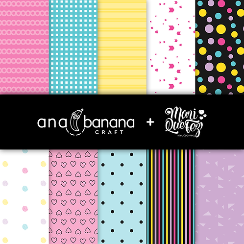Special Colorful Digital Paper