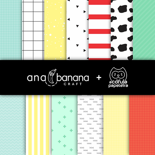 Cute Farm Digital Paper