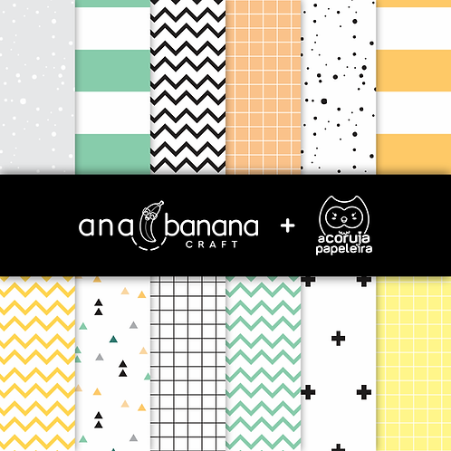 Animal Party Digital Paper