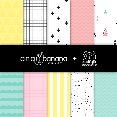 Candy And Fun Digital Paper