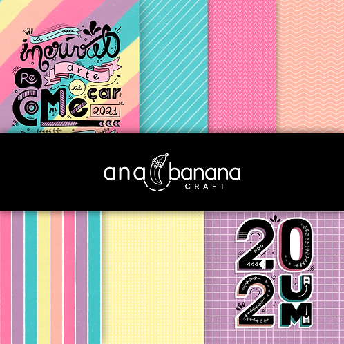 Hand Painted Digital Paper