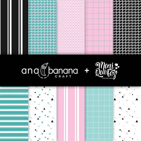 Mary's Party Digital Paper