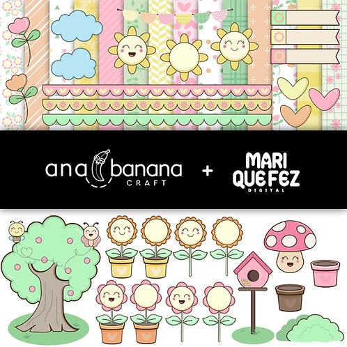 Cute Garden Digital Kit