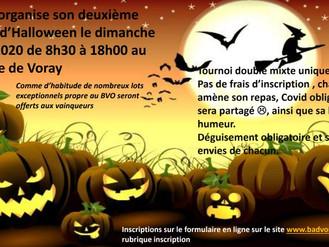 Tournoi amical d'Halloween par le BVO (Voray)