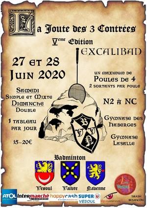 HAPPY MATCH ! Tournois par équipe, le 03-04 oct 2020 à Vesoul