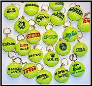 Path Merchandise - tennis ball keyrings