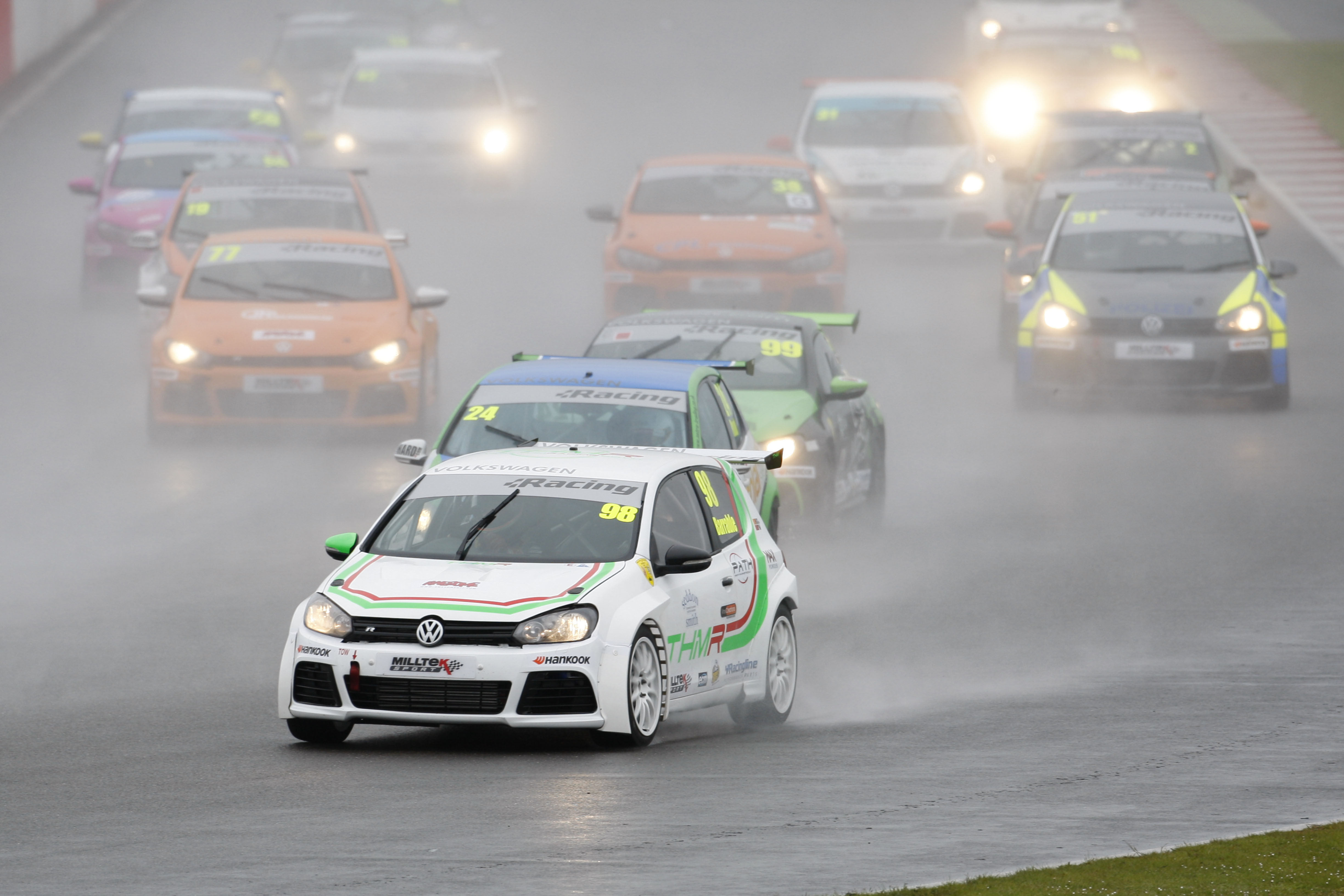 THM Racing - very wet race at Silverstone 2015