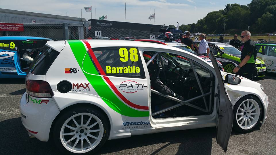 THM Racing - Brands Hatch 2015 assembley area