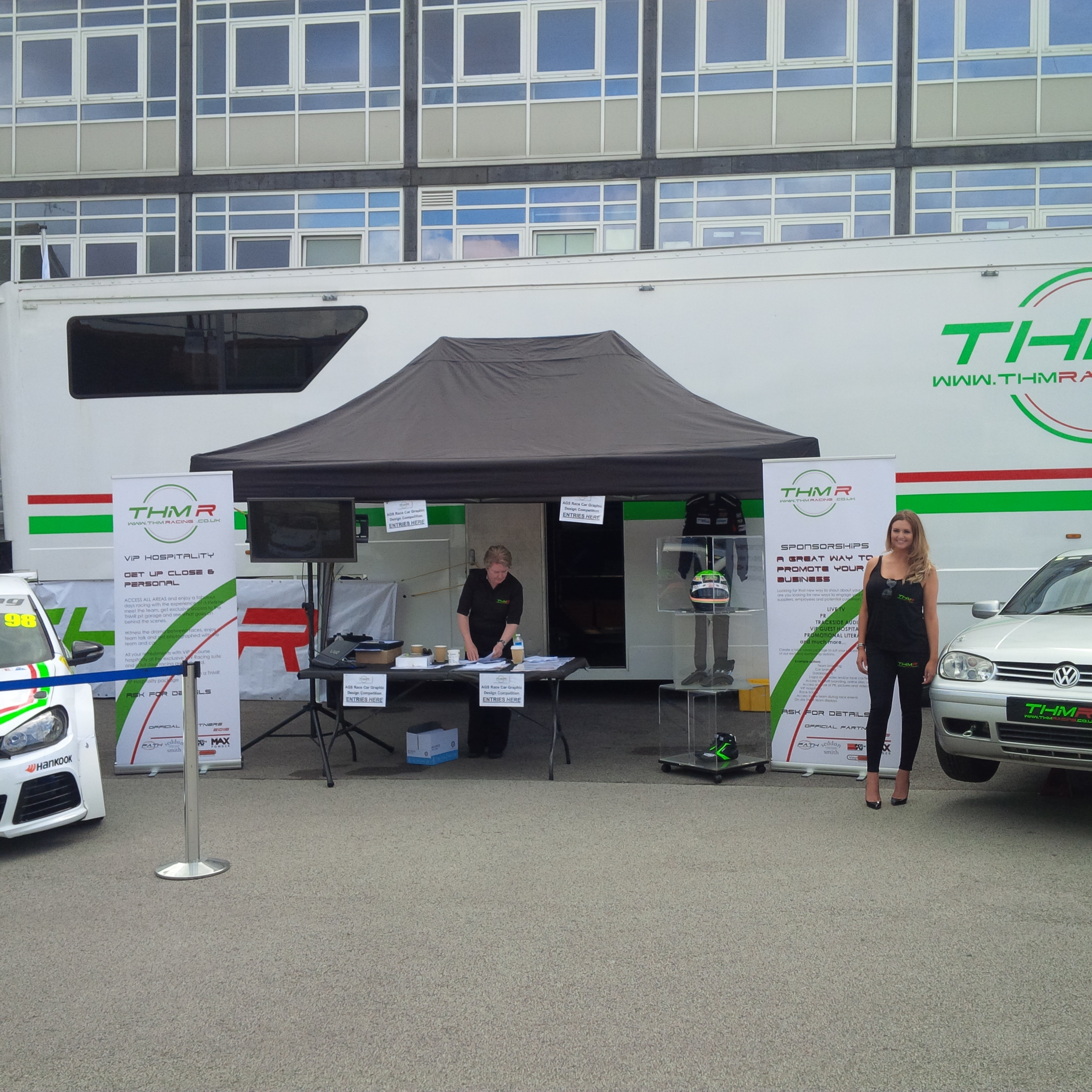 THM Racing at the Aylesbury Grammar School